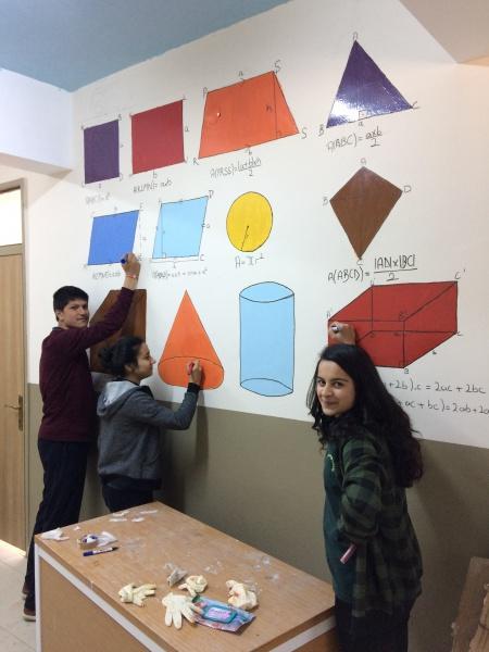 Okulumuzda Yapilan Matematik Sokaği Etkinlikleri şükrü Geliş Fen